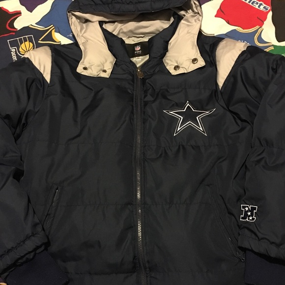 timeless design 44468 a979c NFL pro line Dallas Cowboys puffer coat